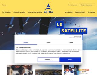 onastra.fr screenshot