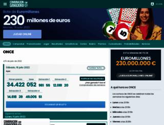 once.combinacionganadora.com screenshot