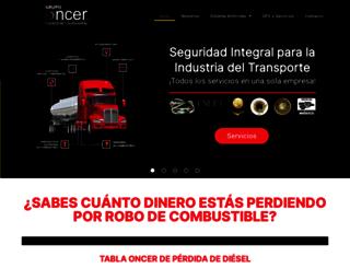 oncer.com.mx screenshot