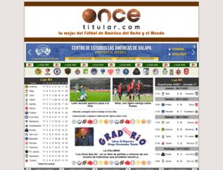 oncetitular.com screenshot