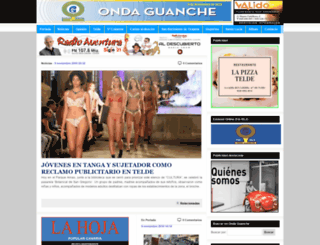 ondaguanche.com screenshot