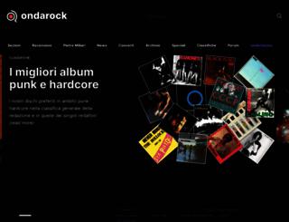ondarock.it screenshot