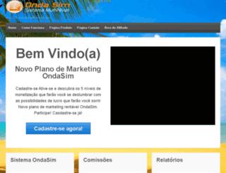 ondasim.com.br screenshot