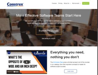 ondemand.construx.com screenshot