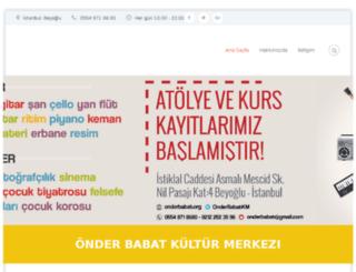 onderbabat.org screenshot