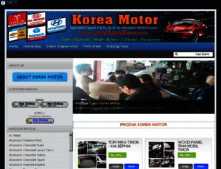 onderdilmobilkorea.com screenshot