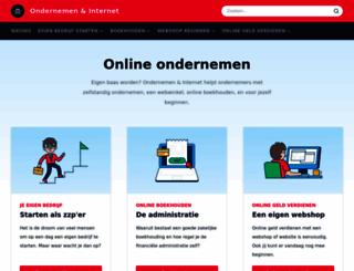 ondernemeneninternet.nl screenshot