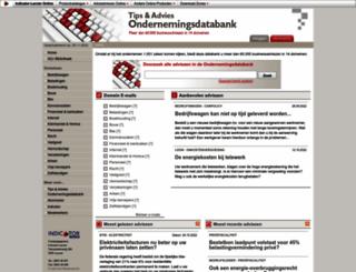 ondernemingsdatabank.indicator.be screenshot