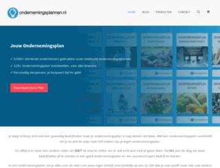 ondernemingsplannen.nl screenshot