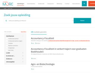 onderwijsaanbod.khk.be screenshot