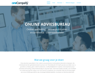 one-company.nl screenshot