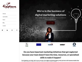 one-epiphany.com screenshot