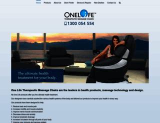 one-life.com.au screenshot