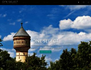 one-select.de screenshot