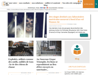 one-voice.fr screenshot