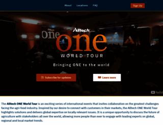 one.alltech.com screenshot