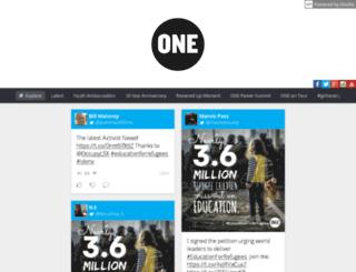 one.stackla.com screenshot