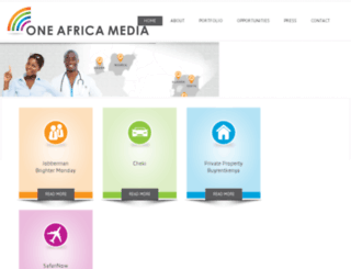 oneafricamedia.azurewebsites.net screenshot