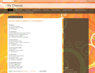 oneandonlychennai.blogspot.in screenshot
