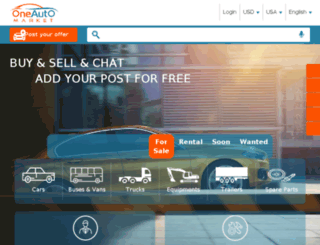 oneautomarket.com screenshot