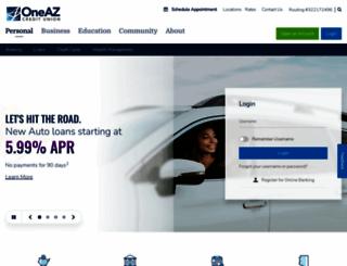 oneazcu.com screenshot