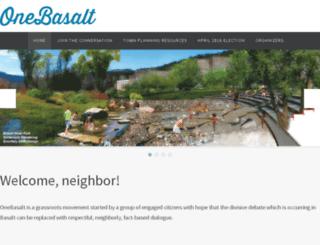 onebasalt.com screenshot