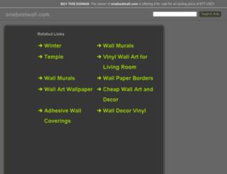 onebestwall.com screenshot