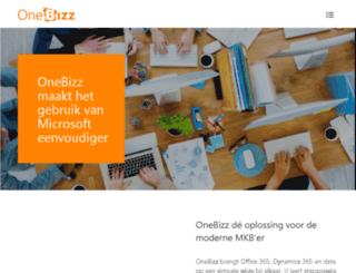onebizz.nl screenshot