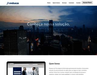 onebuscas.com.br screenshot