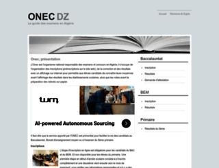 onec.city-dz.com screenshot