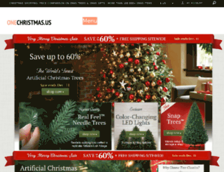 onechristmas.us screenshot