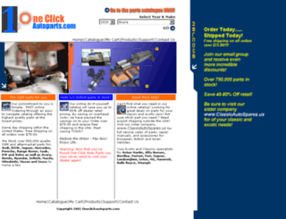 oneclickautoparts.com screenshot