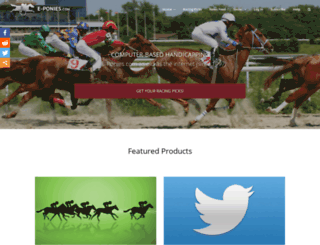 oneclickpony.com screenshot