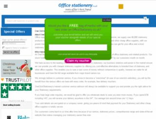 oneclickstationery.co.uk screenshot