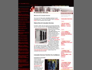 onecolocationservices.com screenshot