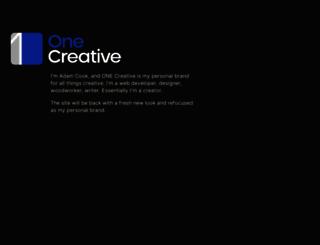 onecreative.pro screenshot