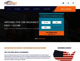 onedaycarinsurancequote.com screenshot