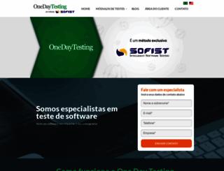 onedaytesting.com screenshot