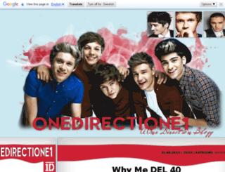 onedirectione1.blogg.no screenshot