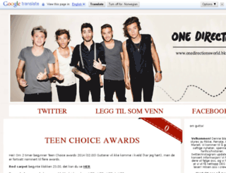 onedirectionsworld.blogg.no screenshot