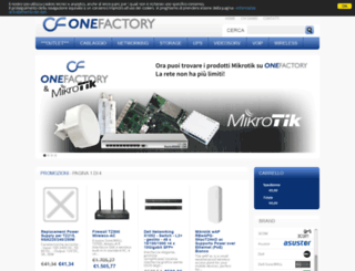 onefactory.it screenshot