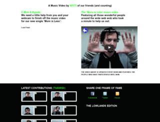 oneframeoffame.com screenshot