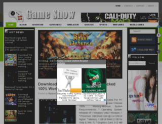 onegameshow.blogspot.com screenshot