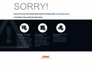 onegoal.nl screenshot