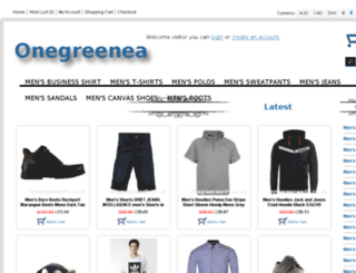 onegreenearth.co.uk screenshot