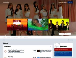 onehallyu.com screenshot