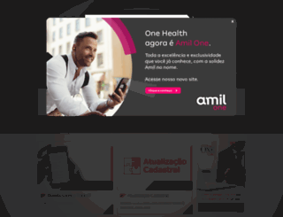 onehealth.com.br screenshot