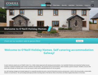 oneill-holiday-homes.com screenshot