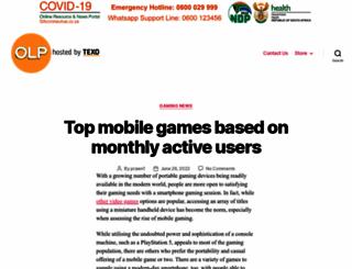 onelargeprawn.co.za screenshot