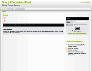 onelittleindian.ipool.info screenshot